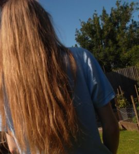 long hair on a vegan diet